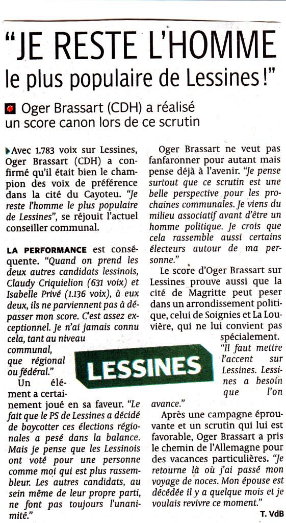 article dh mardi 27 mai 2014