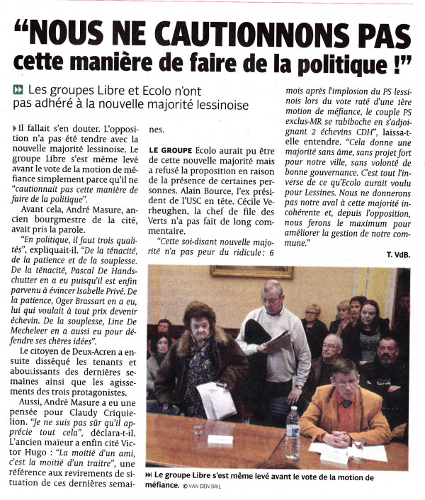 article dh nouvelle majorité mars 2015_NEW